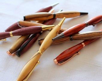 Superbe stylo - tourné artisanalement - Idée fête des pères