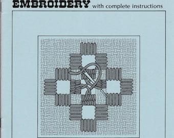 Beginner's Charted Hardanger Embroidery Design. 205.