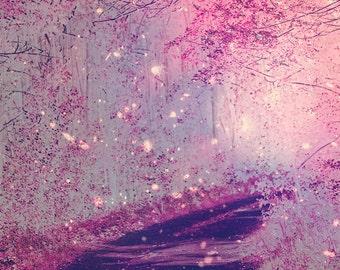 Fairy Tale Forest - 8x10 photograph - Whimsical Art - fine art print - vintage photography - nursery room - magical