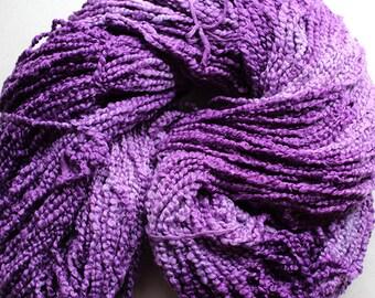 Puffin, Hand dyed cotton yarn, 8oz, 370 yds - Grape Tonal