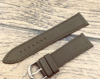 Buy 1 get 1 Free!!!!Military Sport Watch Band- Green Canvas