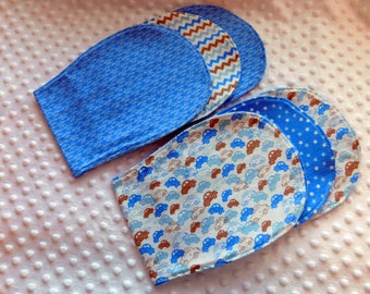Baby Boy burp cloth Sets of 3  Burp cloths Baby Boy Gift Sets