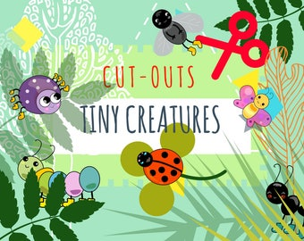 Fun cut-outs-Tiny Creatures