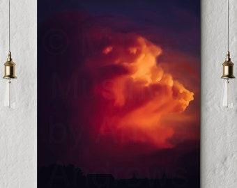 Fine Art Prints: Beautiful Storm
