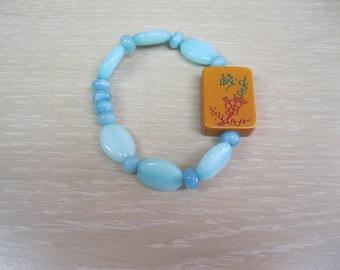 Vintage Bakelite   Mah Jongg bracelet
