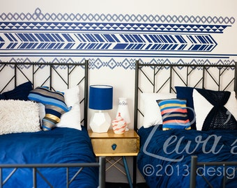 African Themed Vinyl Wall Decal Pattern