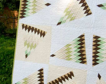 Cotton Candy White - Quilt - 47 x 63
