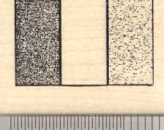 Flag of France Rubber Stamp D24314 Wood Mounted, Identical to Ireland