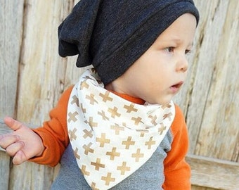 BABY SLOUCHY BEANIE grey - Toddler slouchy beanie - Kids slouchy beanie- baby boy beanie  - baby, toddler, boys - Baby Boy slouchy beanie