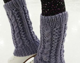 Shine on the Ice legwarmers (knitting pattern)