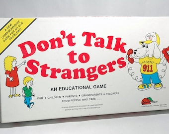 Don't Talk to Strangers Educational Game from Apple Street 1984 (read description)