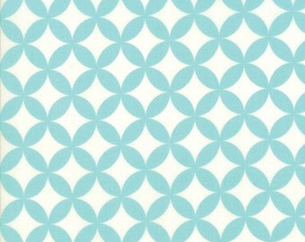 Fabric by Moda: Hello Darling by Bonnie and Camille Aqua and cream