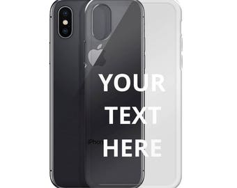 Personalized iPhone Case - iPhone 5/5s/SE - iPhone 6 Plus/6s Plus - iPhone 6/6s - iPhone 7 Plus/8 Plus - iPhone 7/8 - iPhone X