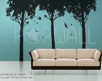 Tree Wall Sticker Wall Decals - Shady Tree wall decal 074