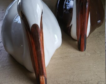 Pair of Townsend Porcelain Pelicans