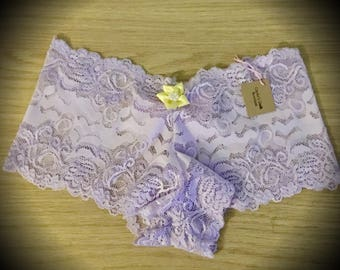Tangled Rapunzel Disney Princess Lingerie Lace Panties French Knickers