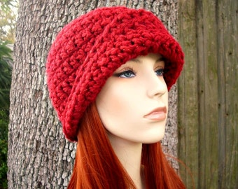 Instant Download Crochet Pattern - Hat Crochet Pattern - Crochet Hat Pattern for Garbo Cloche Hat Pattern - Womens Hat - Womens Accessories