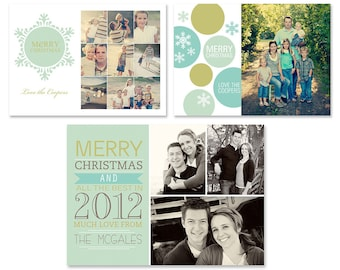 Holiday Card Template Set No. 04