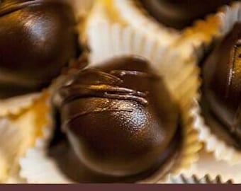 Vegan Jalapeno chocolate truffles