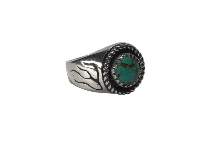 The Flaming Stone Ring
