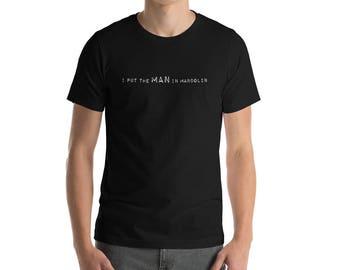 I Put the MAN in Mandolin T-Shirt