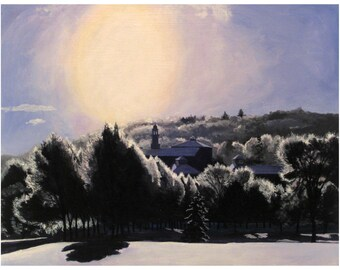 Silver Lining Giclee Print