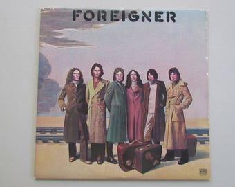 Foreigner, Self-Titled, Vinyl LP Album SD 19109, 70s Pop Rock