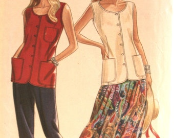 Misses Skirt - Misses Pants - Misses Top - Sewing Pattern - New Look 6561 - New - Uncut - Size 6 - 8 - 10 - 12 - 14 - 16 - 18