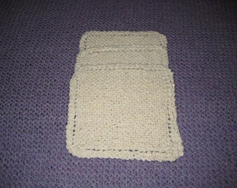 Handknit Cotton Dishcloths