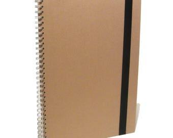 A3 Portrit Kraft Elastic Strap Scrapbook, Photo Album, Display, Guestbook DIY