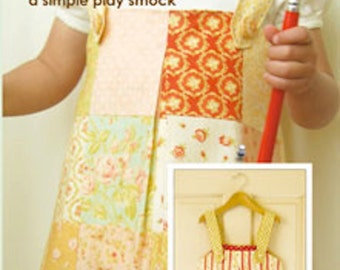 Fig Tree Quilts Little Picasso Smock Pattern - Simple Play Smock Pattern
