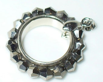 1 pendant silver ring without chain (40)