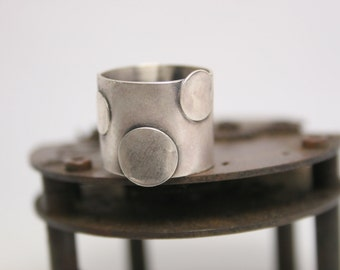 Sterling Silver Ring - Hand Forged