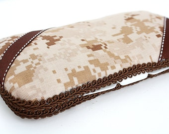 Military Cammie Travel Baby Wipes Case, Military Cammie Baby Wipes Container, Baby Shower Gift, Military Camo
