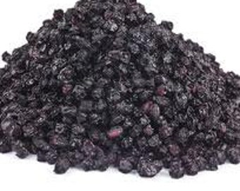 Elderberries Whole  8 Oz Great For Syrups Or Herbal Compounds Certified Organic