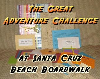 Scavenger Hunt Adventure - Santa Cruz Beach Boardwalk - The Great Adventure Challenge