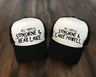 Utah Lakes Trucker Hat