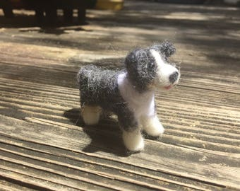 Felted Dog made to order