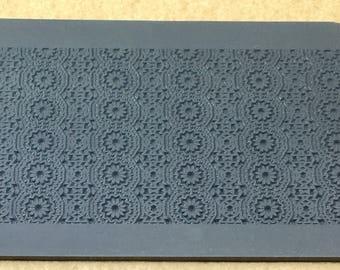 Rollable CELESTIAL Rubber Texture Tile Stamp RTT156