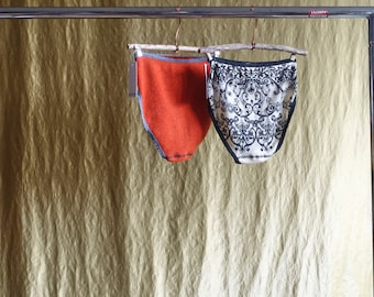 SALE queen undies upcycled cashmere merino wool crafted from fine knit sweaters this is upcycling this is slow fashion this is the future