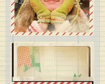 Crate Paper Bundled Up Photo Overlays -- MSRP 5.00