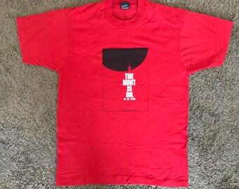 Vinatge Hunt for Red October Movie T-Shirt