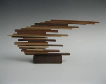 Modern Abstract wood Scupture