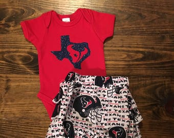 Texans bloomers outfit