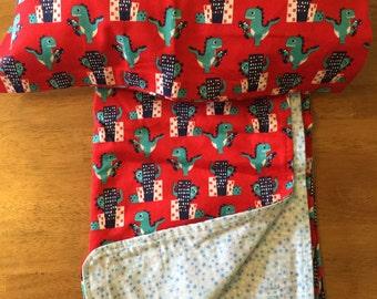 Toddler Blanket & Pillow - Dinosaurs