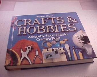 1979 Reader's Digest Crafts & Hobbies Hardcover Book