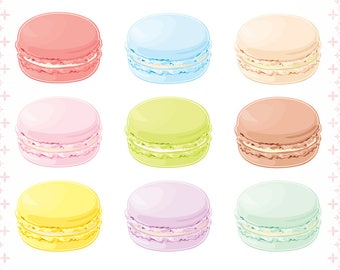 Macarons Stickers | Cute and Kawaii | Gift & Accessories