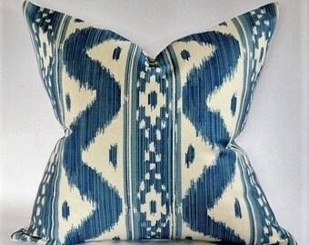 Bali Hai Pillow Cover in Blues