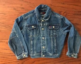 Vintage Tommy Hilfiger kids jean jacket
