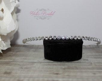 Bridesmaid tiara, Bridesmaid headbandSwarovski Tiara, QuinceaneraTiara, CrystalTiara ,Wedding Tiara ,Crown , Wedding Headpiece, Bridal Tiara